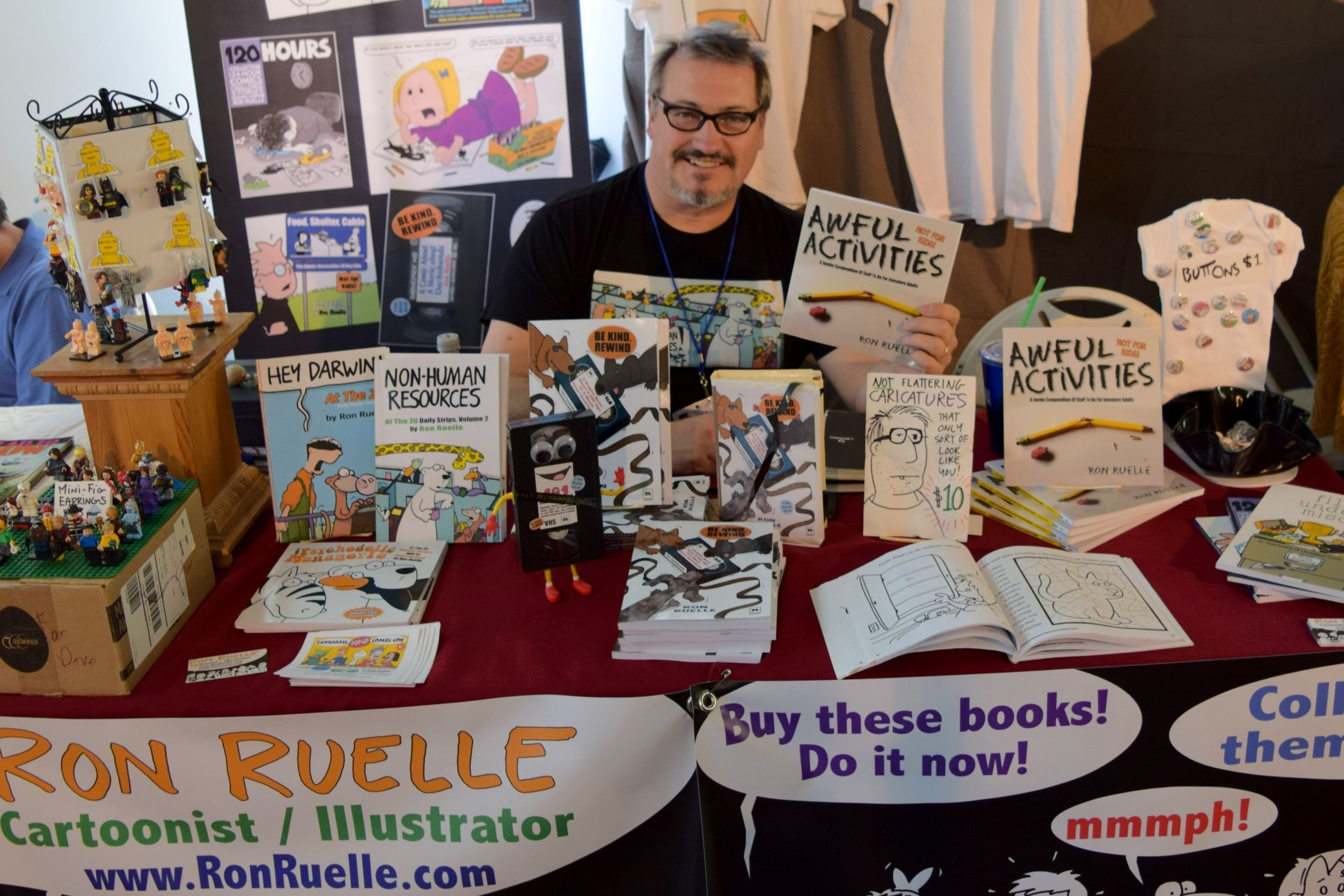 Be Kind, Rewind With Ron Ruelle - An Interview About A Book About A VHS Tape Of A Movie About Dachshunds (DINK 2018)   Written by Neil Greenaway