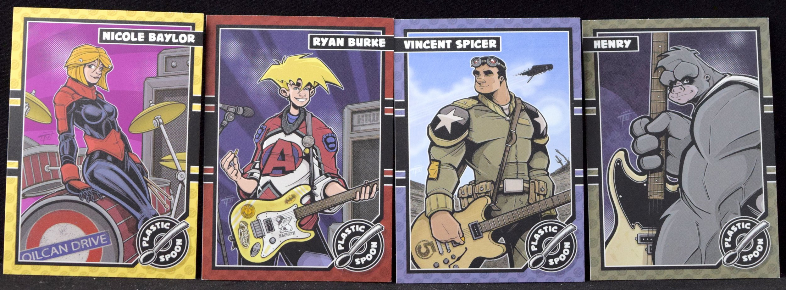 OilCan Drive Trading Cards from Sean Tiffany.