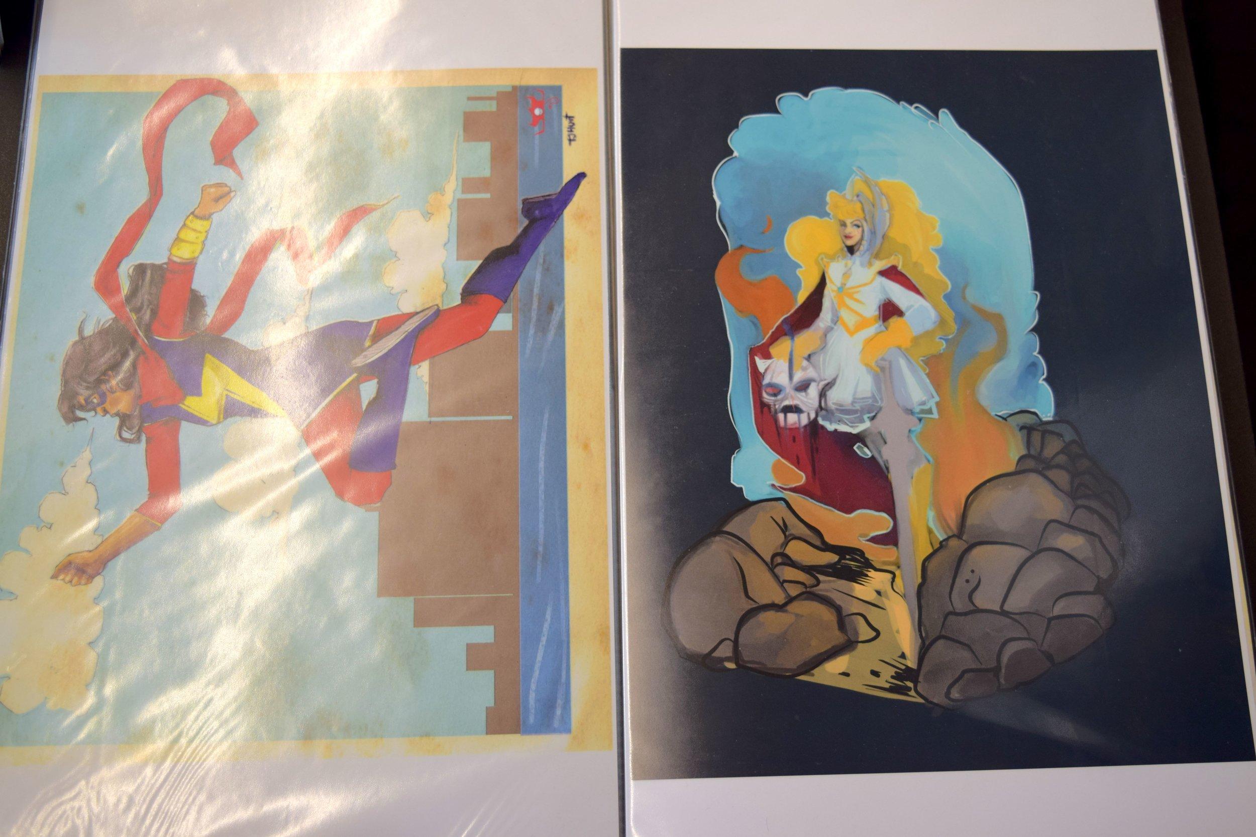 Prints by Thea J. Hunt.