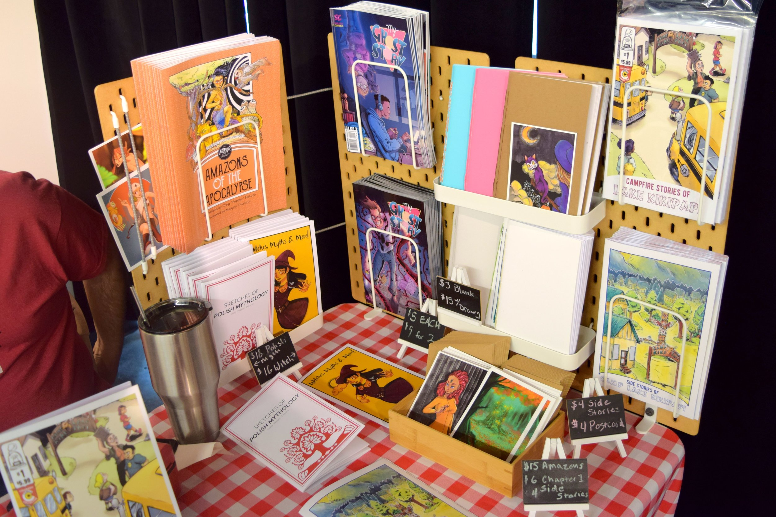 More books & art from Peppercopia Publishing at DINK 2018.