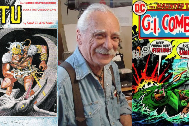 An Interview With Sam Glanzman - One Of The Last Golden Age Artists   Written By Bryan Stroud