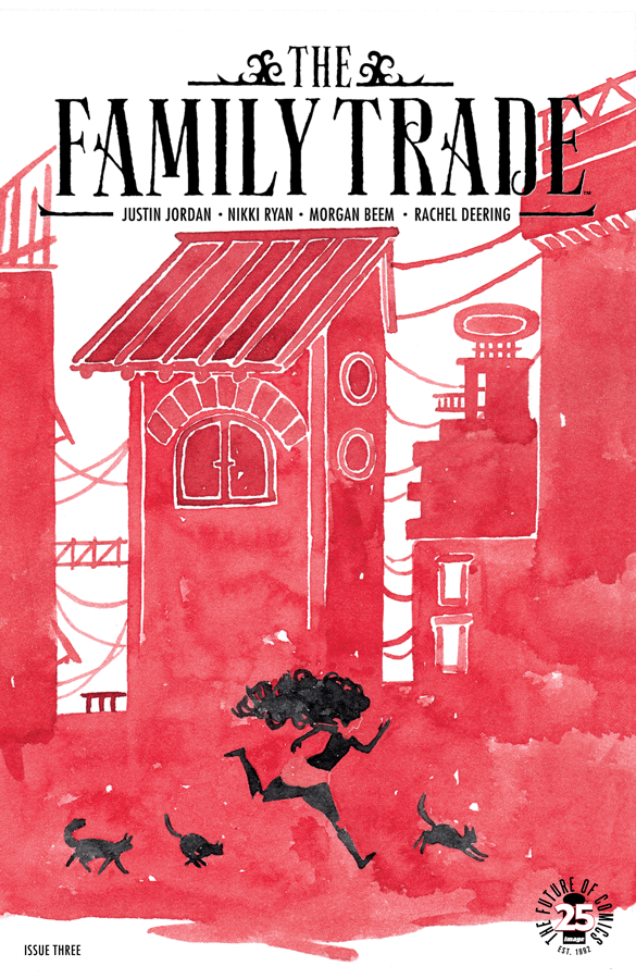 The Family Trade   (2017) #3, cover by Morgan Beem.