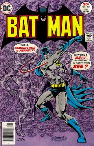 Batman (1940) #283, cover by Ernie Chan and Vince Colletta.