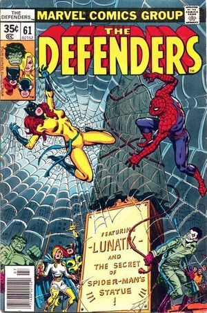 Defenders (1972) #61, cover by Ed Hannigan and Ernie Chan.