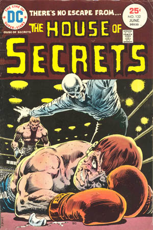 House of Secrets (1956) #132, cover by Ernie Chan.