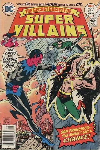 Secret Society of Super-Villains (1976) #5, cover by Ernie Chan.