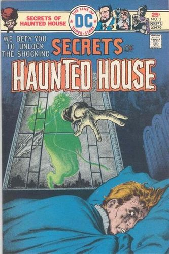 Secrets of Haunted House (1975) #3, cover by Ernie Chan.