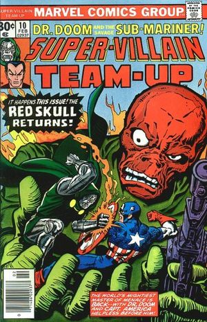 Super-Villain Team-Up (1975) #10, cover by Gil Kane and Ernie Chan.