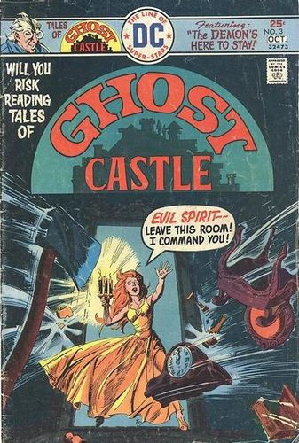 Tales of Ghost Castle (1975) #3, cover by Ernie Chan.
