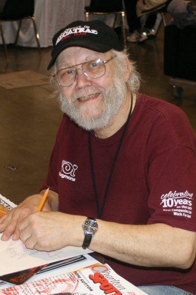 Steve Skeates in 2009.
