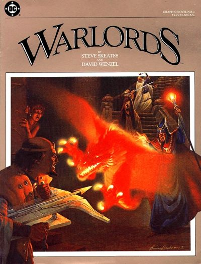 DC Graphic Novel (1983) #2 - Warlords, written by Steve Skeates.