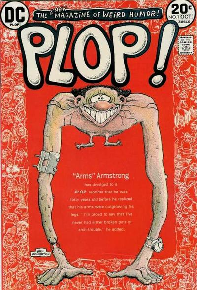 "Plop (1973) #1, featuring ""The Gourmet"" written by Steve Skeates."