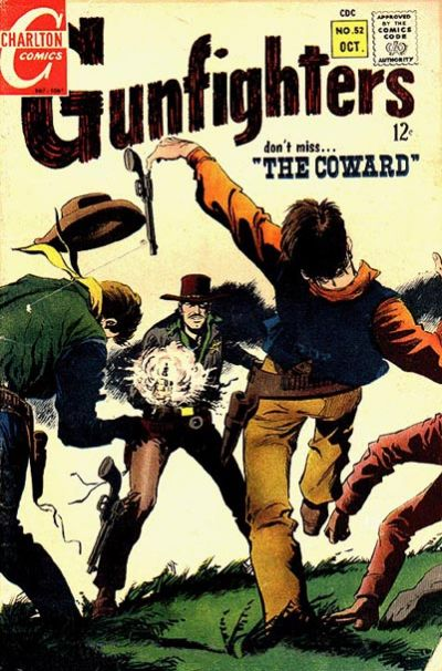 Gunfighters (1966) #52, featuring stories written by Steve Skeates.