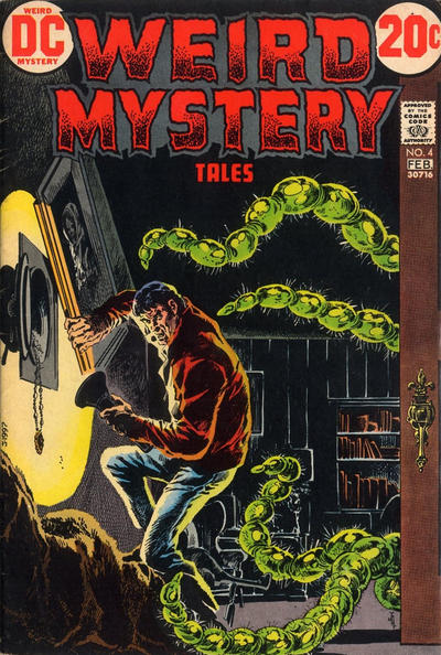 Weird Mystery Tales (1972) #4, featuring stories written by Steve Skeates.