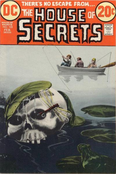 House of Secrets (1956) #105, featuring stories written by Steve Skeates.