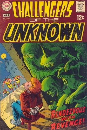 Challengers of the Unknown (1958) #66, written by Mike Friedrich.