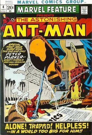 Marvel Feature (1971) #4, written by Mike Friedrich &Roy Thomas.