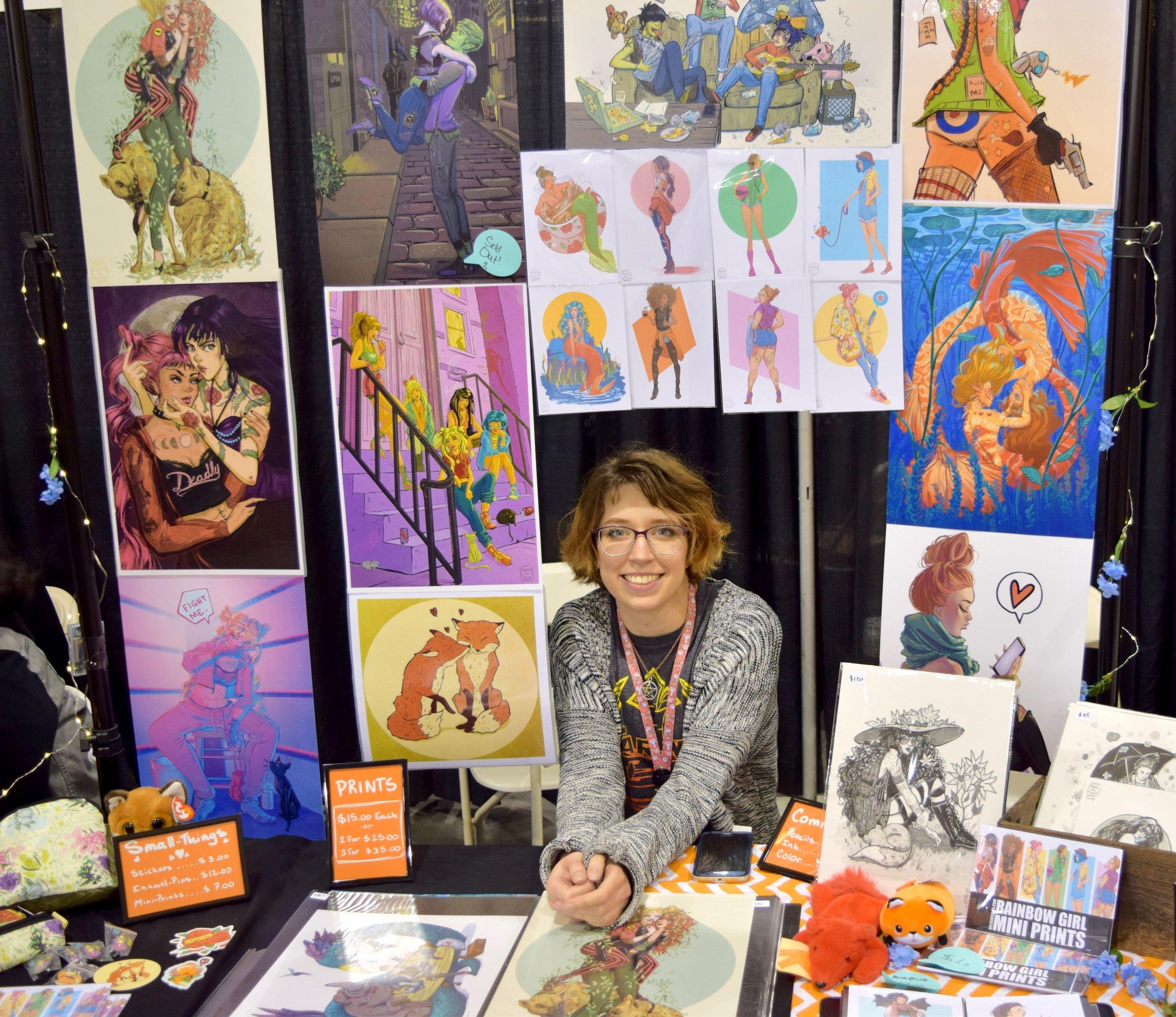 Kelsi Jo Silva at Phoenix Comic Fest 2018. (1)
