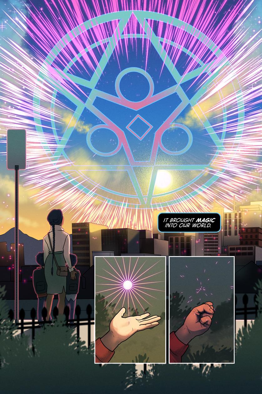 The Liminal (2018) #1, pg.6 - by Dailen Ogden.