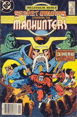 Secret Origins (1986) #22, cover by Walt Simonson.