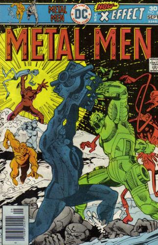 Metal Men (1963) #47, cover by Walt Simonson.