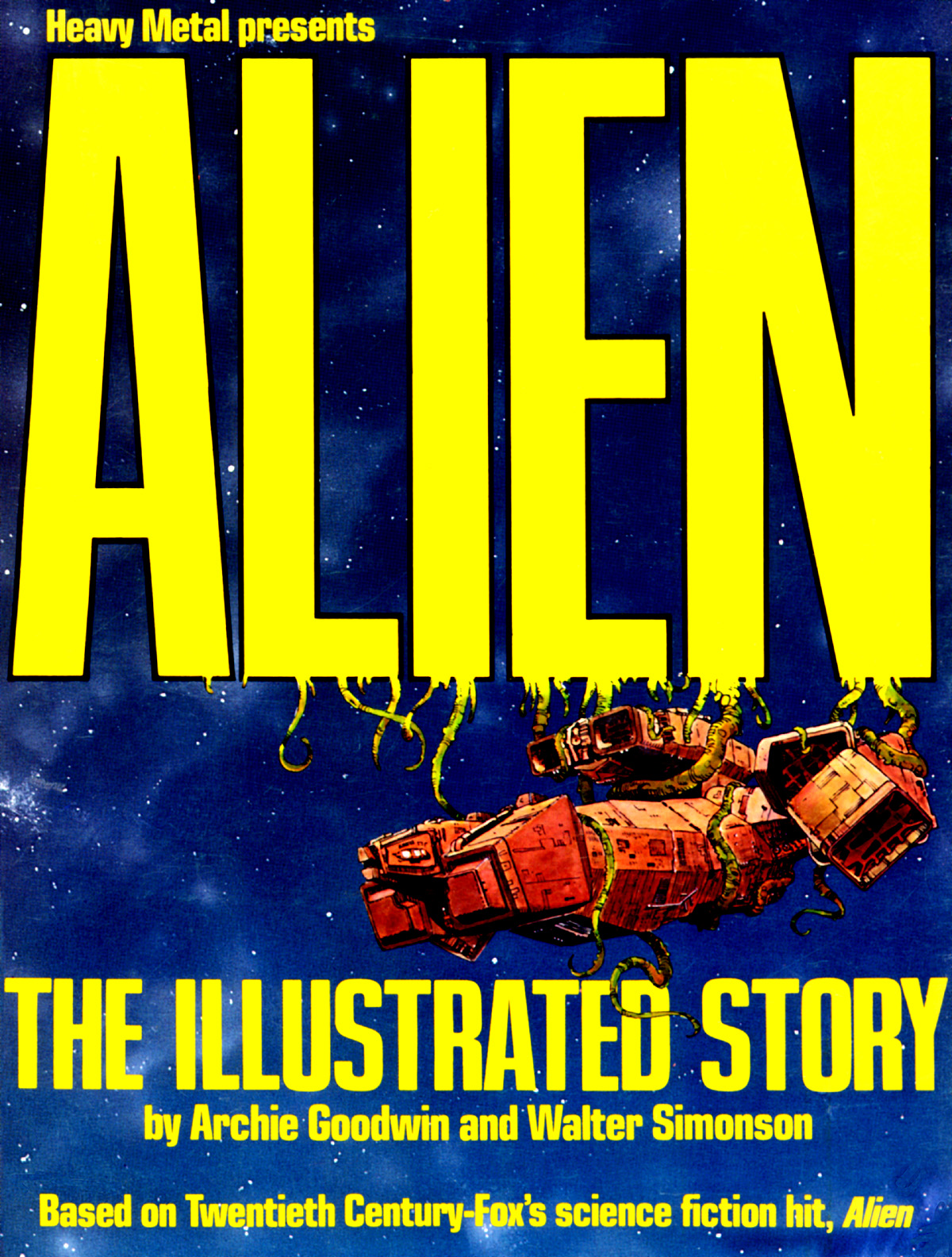 Alien the Illustrated Story (1979) GN, illustrated by Walt Simonson.