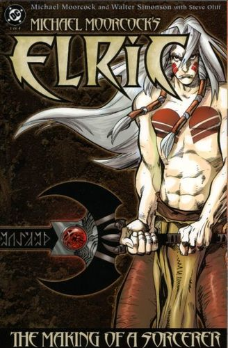 Elric_The Making Of A Sorcerer (2004) #1, cover by Walt Simonson.