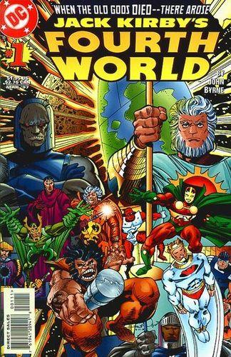 Jack Kirby's Fourth World (1997) #1, cover by Walt Simonson.