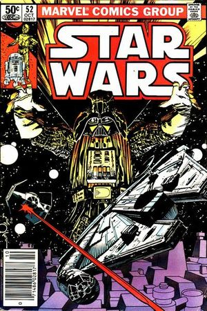 Star Wars (1977) #52, cover by Walt Simonson.