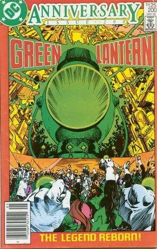 Green Lantern (1960) #200, cover by Walt Simonson.