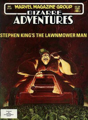 Bizarre Adventures (1981) #29, cover by Walt Simonson.