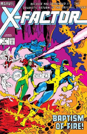 X-Factor (1986) #1, cover by Walt Simonson.