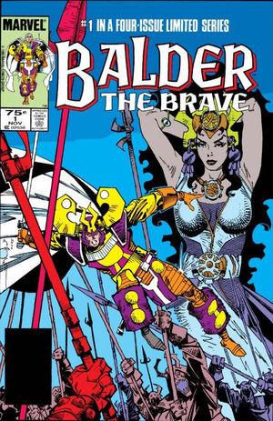 Balder the Brave (1985) #1, cover by Walt Simonson.