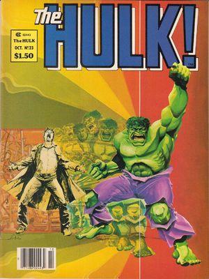 Hulk! (1978) #23, cover by Walt Simonson.