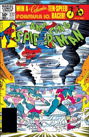 Amazing Spider-Man (1963) #222, cover by Walt Simonson.