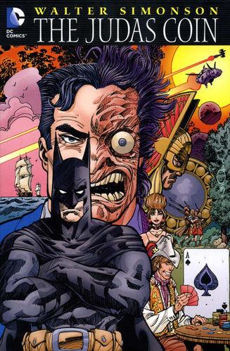 The Judas Coin (2012) GN, cover by Walt Simonson.