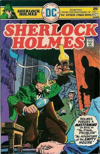 Sherlock Holmes (1975) #1, cover by Walt Simonson.