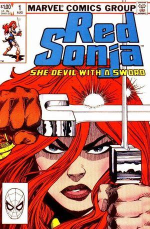 Red Sonja (1983) #1, cover by Walt Simonson.