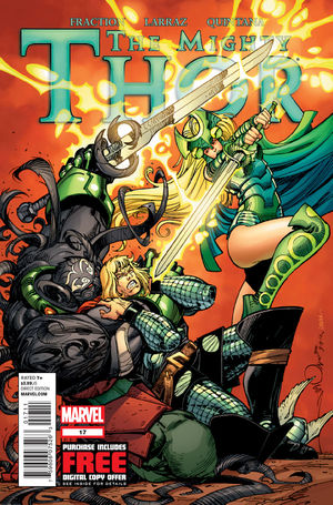 Mighty Thor (2011) #17, cover by Walt Simonson.