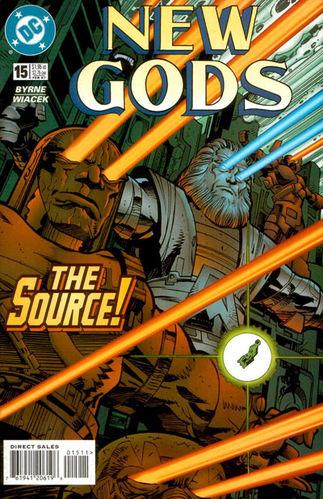 New Gods (1995) #15, cover by Walt Simonson.