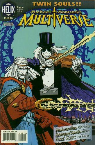 Multiverse (1997) #7, cover by Walt Simonson.