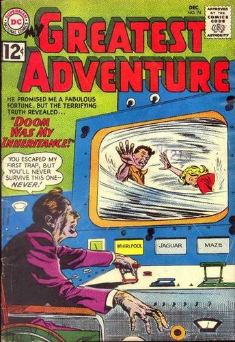 My Greatest Adventure (1955) #74, cover by Gene Colan.