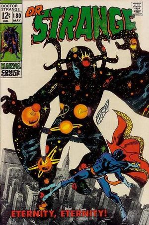 Doctor Strange (1968) #180, cover penciled by Gene Colan & inked by Steve Ditko