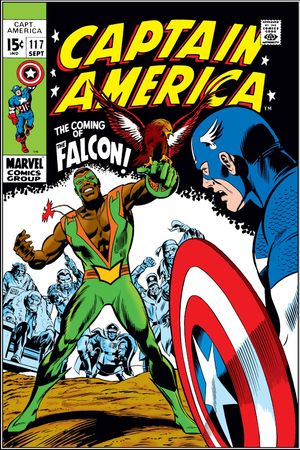Captain America (1968) #117, cover penciled by Gene Colan & inked by Joe Sinnott.