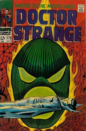 Doctor Strange (1968) #173, cover by Gene Colan.