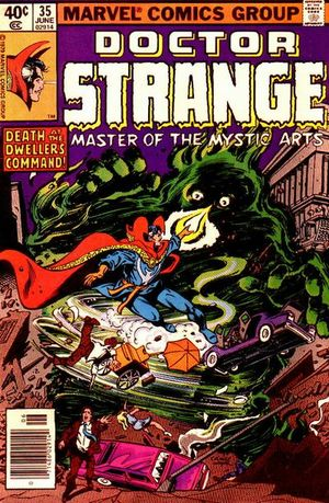 Doctor Strange (1974) #35, cover penciled by Gene Colan & inked by Bob Wiacek