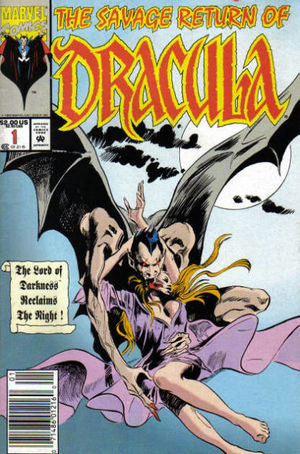 Savage Return of Dracula (1992) #1, cover by Gene Colan.