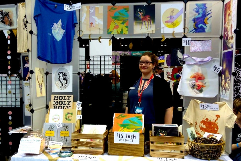 Illustration With Style, Inspired By Family - An Interview With Sarah Menzel (Denver Comic Con 2018)   Written by Mary Andreski