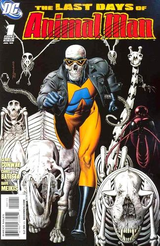 Last Days of Animal Man (2009) #1, written by Gerry Conway.
