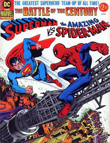 Superman vs. The Amazing Spider-Man (1976) #1, written by Gerry Conway.